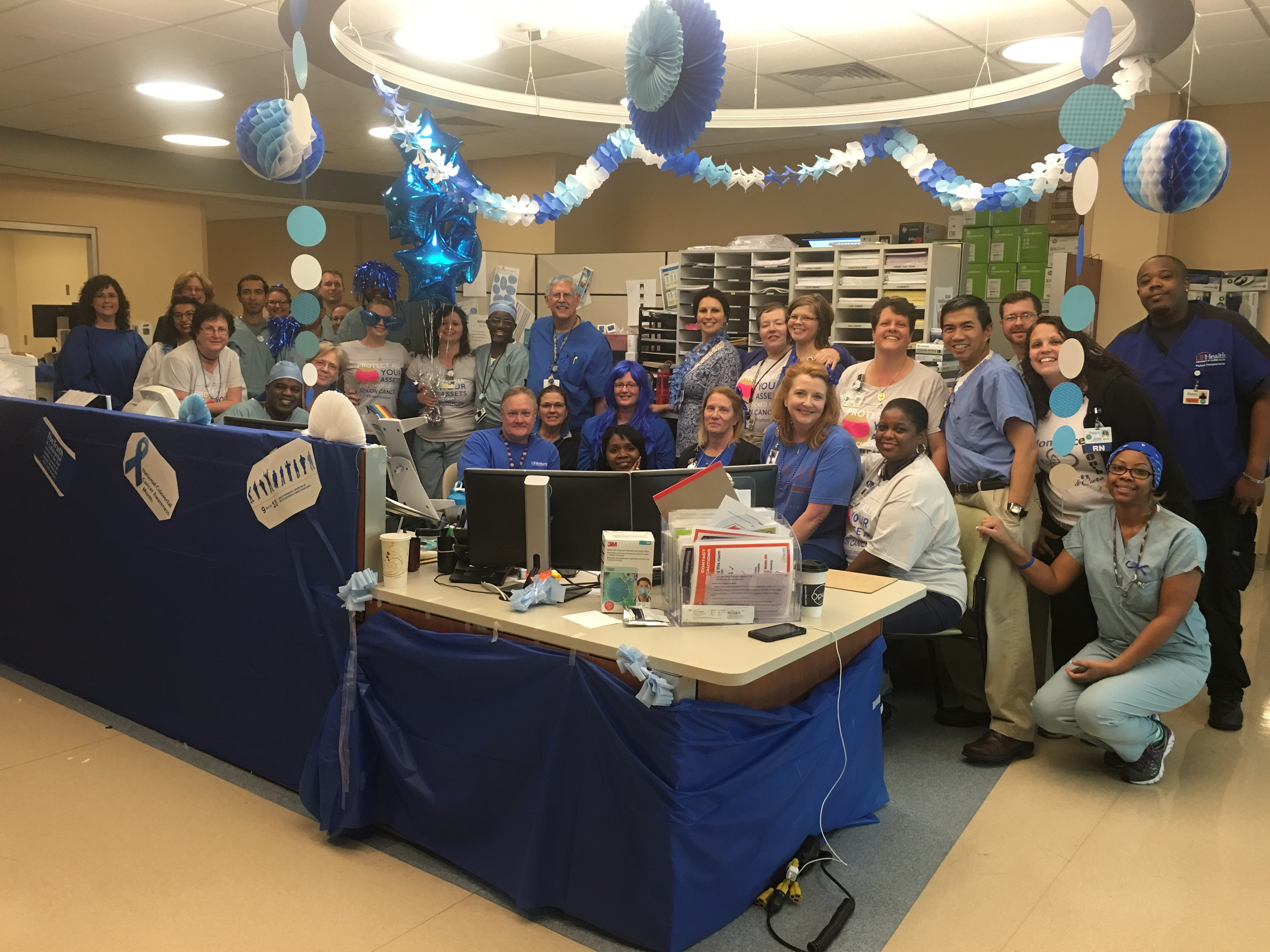 Colorectal Cancer Awareness Month Go Blue Division Of Gastroenterology Hepatology Nutrition College Of Medicine University Of Florida
